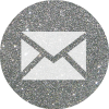 silver round email 2 social media icon